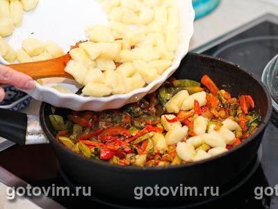 Ньокки с овощами, Шаг 04