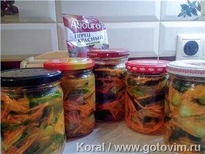 Огурцы с морковкой по-корейски (салат на зиму)