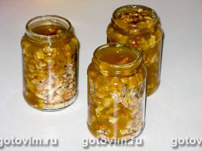 мед с орешками как сделать