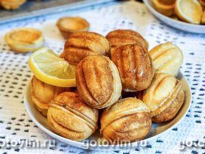 Орешки с кремом из вареной сгущенки