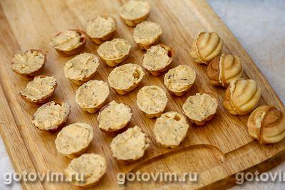 Орешки с ореховой начинкой, Шаг 08