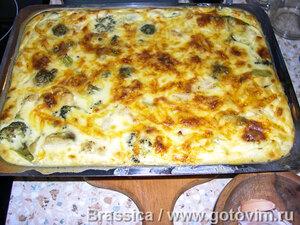 Овощи как в Анталии (овощи под сырной корочкой)