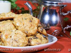 Овсяное печенье с коричневым сахаром
