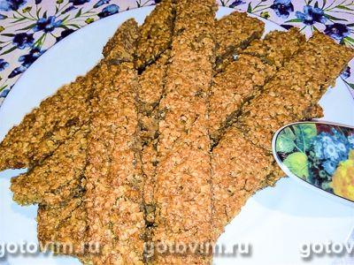 Печенье из хурмы и овсяных хлопьев