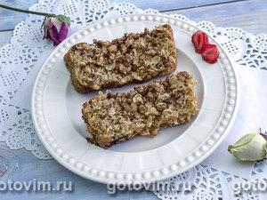 Овсяный кекс с ягодами (без муки)