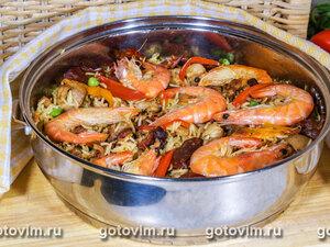 Воскресная паэлья – кулинарный рецепт