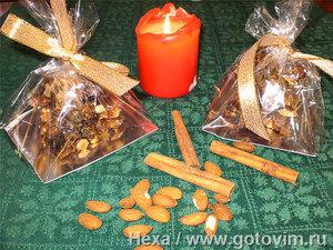 Панфорте (Panforte di Siena) – медовая коврижка с орехами и сухофруктами