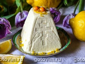 Яйца с творожно-чесночной пастой - рецепт пошаговый с фото