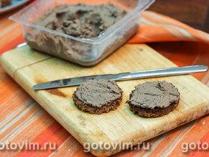 Печеночный паштет с лесными грибами