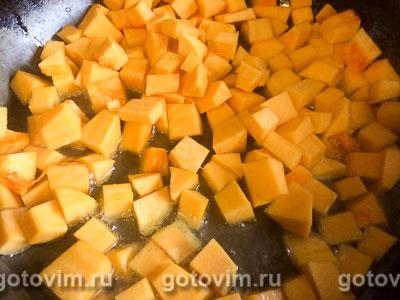 Паста с тыквой и плавленым сыром, Шаг 02