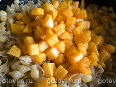 Паста с тыквой и плавленым сыром, Шаг 05