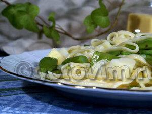 Тальятелле с картофелем и фасолью