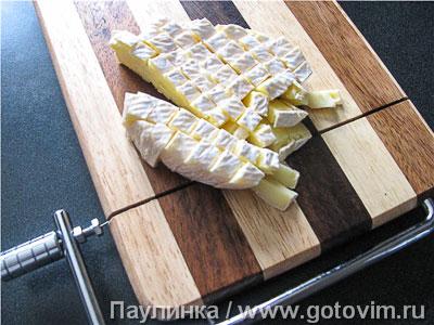 Макароны с креветками, свеклой и сыром бри, Шаг 02
