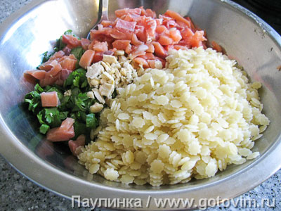 Паста - салат с рыбой, Шаг 04