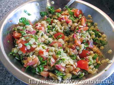 Паста - салат с рыбой, Шаг 05