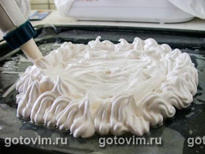 Торт «Павлова», Шаг 03