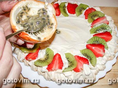 Торт «Павлова», Шаг 06