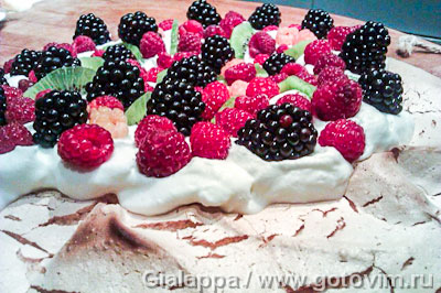торт безе павлова рецепт