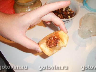 Айва с медом и орехами, Шаг 02