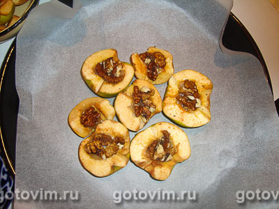 Айва с медом и орехами, Шаг 04