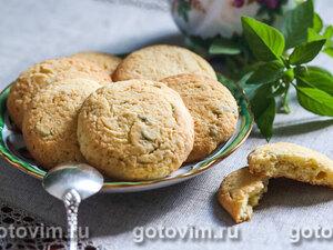 Песочное печенье с базиликом и лимоном