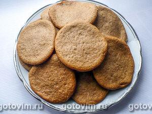 Печенье с медом и корицей за 10 минут