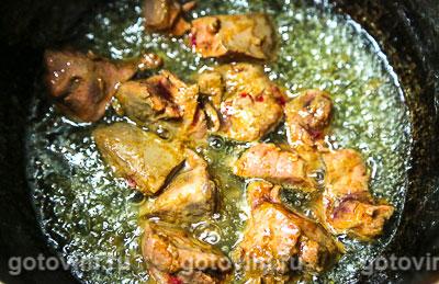 Печень терияки с грушей и овощами, Шаг 02