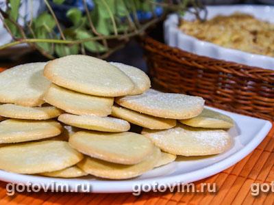 Печенье «Монетки». Фотография рецепта