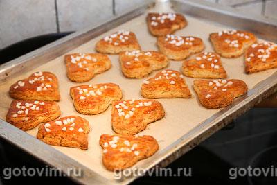 Песочное творожное печенье, Шаг 07