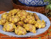 Печенье с кедровыми орешками и кукурузными хлопьями