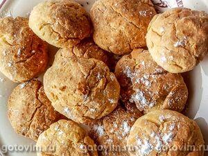 Кукурузное печенье на кокосовом масле