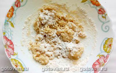 Кокосовое печенье на кокосовом масле с миндалем (без яиц), Шаг 02