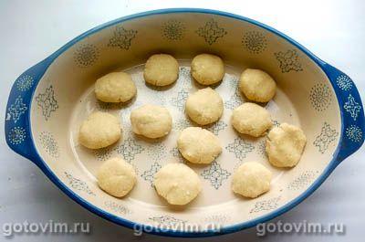Кокосовое печенье на кокосовом масле с миндалем (без яиц), Шаг 04