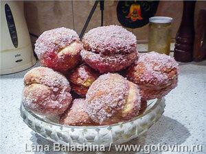 Пирожные «Персики»