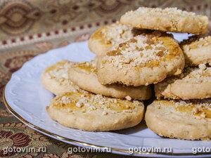 Кокосово-яблочные квадратики с творожной заливкой – кулинарный рецепт