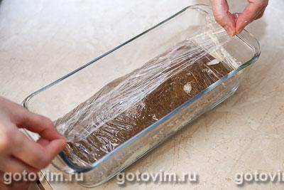 Печеночный торт с сыром, Шаг 09