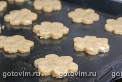 Песочное печенье с шоколадом, Шаг 04