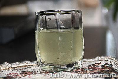 Пенный напиток берёзовый. Фотография рецепта