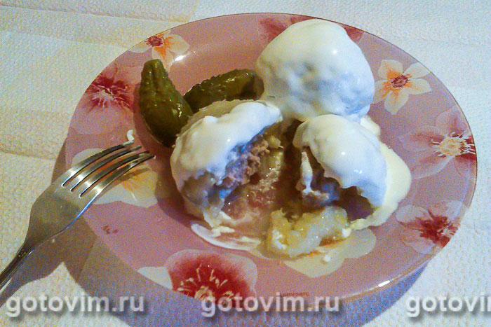 Лепельские клёцки из картофеля. Фотография рецепта