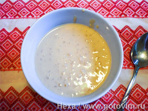 Молочная перловая каша рецепт