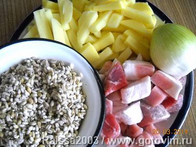 перловая каша в духовке рецепт с молоком