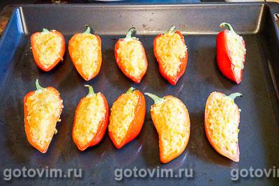 Фаршированный перец с пшеном и сыром, Шаг 07