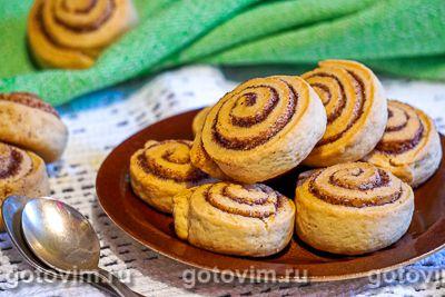 Песочное печенье с корицей