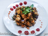 Пикантные баклажаны с арахисом по-китайски