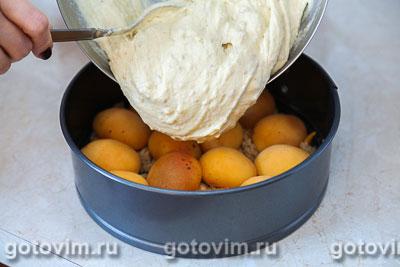 Перевернутый пирог с абрикосами  , Шаг 06
