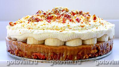 Пирог «Баноффи пай» (Banoffi pie). Фотография рецепта