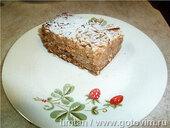Болгарский пирог с яблоками и манкой
