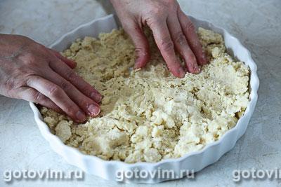 Пирог с черешней и сыром с голубой плесенью, Шаг 03