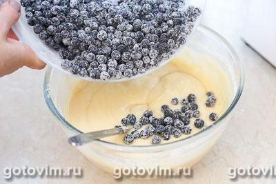 Черничный пирог с лимонным сиропом, Шаг 04