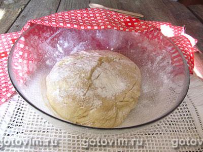 Дрожжевой пирог с ежевикой, Шаг 04